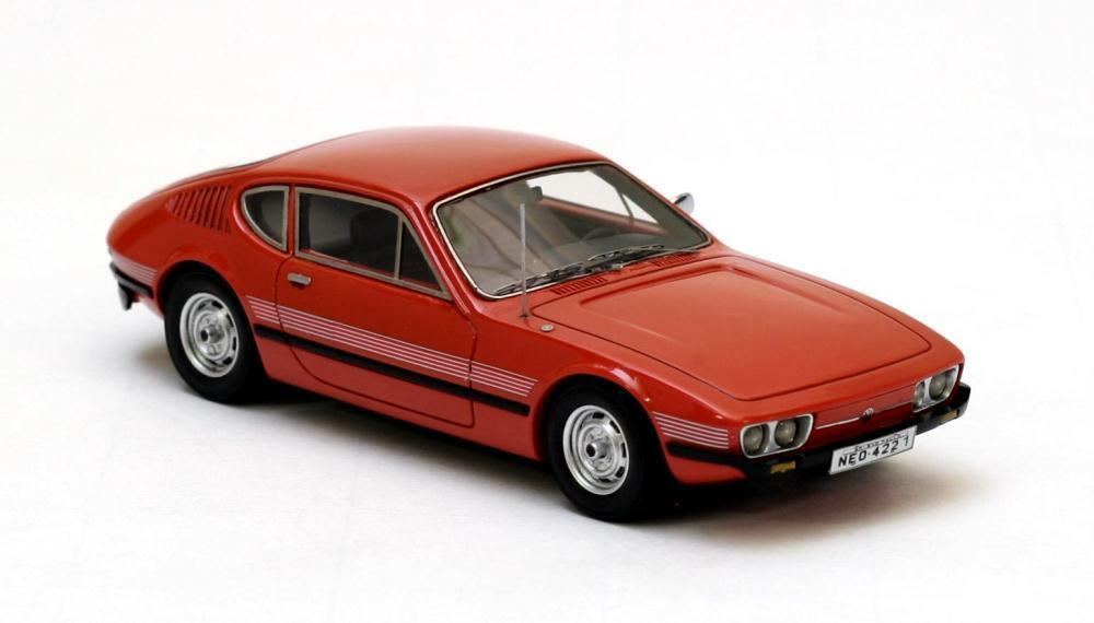 VW SP2  rouge  1974 (Neo Scale 1 43   44221)