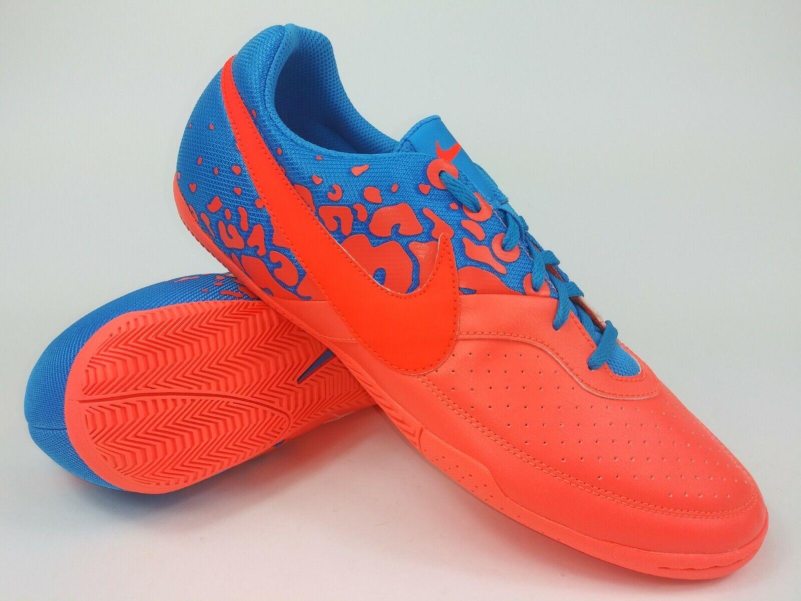 Nike Hombre Raro Elastico II Calzado de Fútbol Indoor 580454-884 Mango Talla 8.5