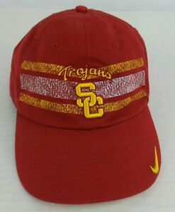 5262bf2ee1b88 Vintage Nike NCAA Los Angeles USC Trojans Hat Size One Size Fits All ...
