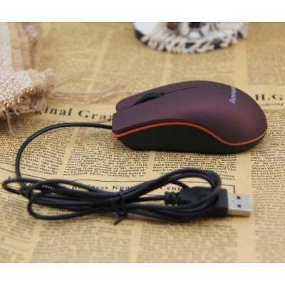 Lenovo M20 PortáTil USB Con Cable ÓPtico RatóN Para Computadora PortáTil Con PC