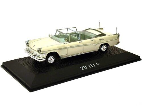 Staatskarosse 1966 ZIL 111 V L Breschnew Metall Miniaturmodell Modellauto 1:43