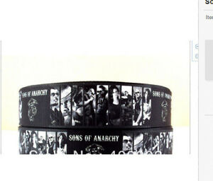 Sons of Anarchy Ribbon 1m long Charlie Hunnam