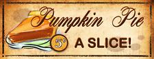 Pumpkin Pie Metal Sign, Autumn, Kitchen Décor, Thanksgiving, Fall, Harvest