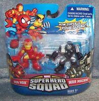 Hasbro Marvel Super Hero Squad - Iron Man and War Machine Toys