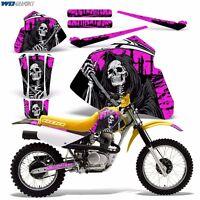 Decal Graphics For Honda Xr80-xr100 Dirtbike Mx Wrap Motocross Deco 85-00 Reap P