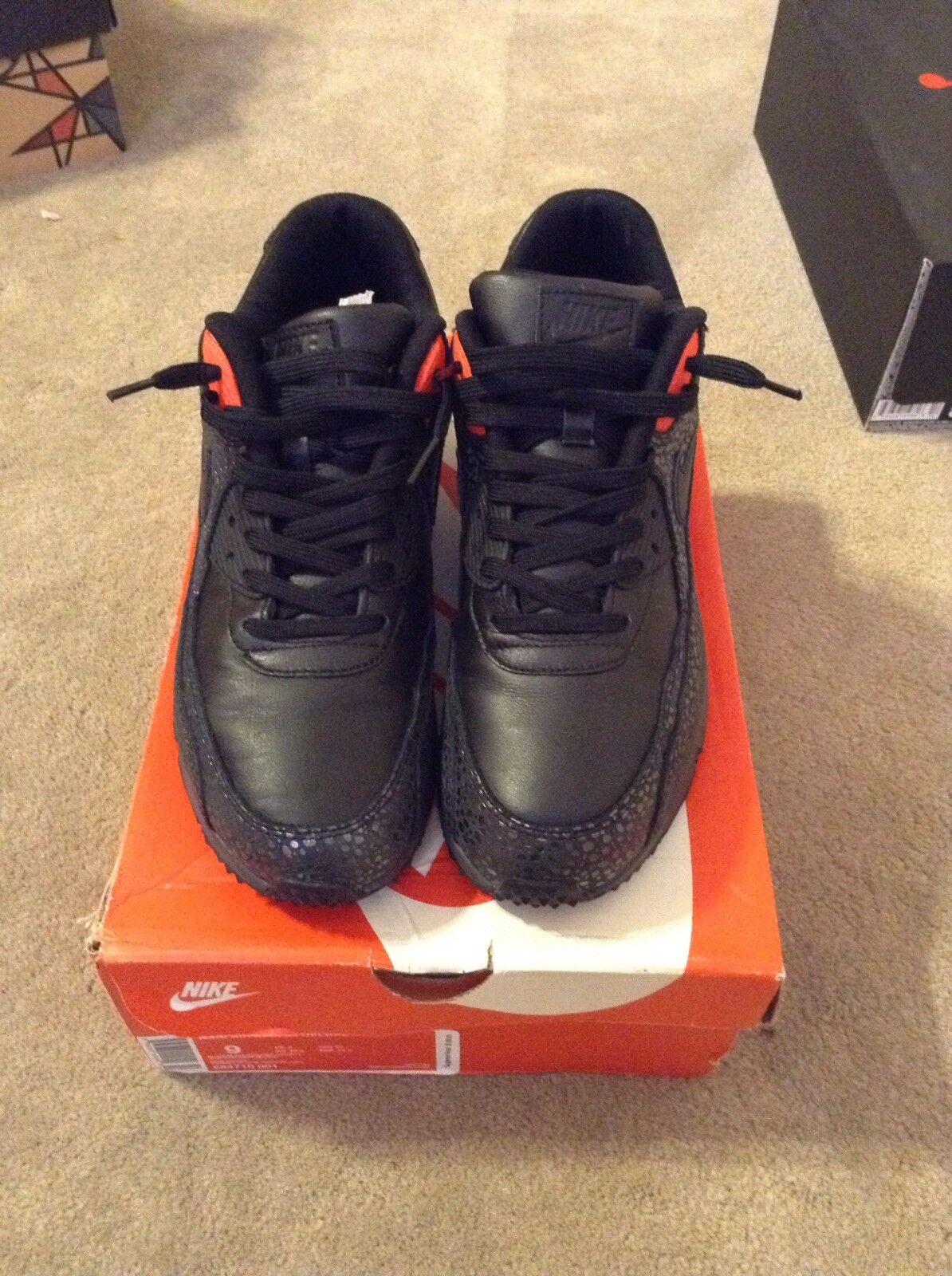 Los hombres de Nike Air Max SZ 90 Deluxe running zapatillas SZ Max 9 Reducción de precios 684710-001 c2d11d