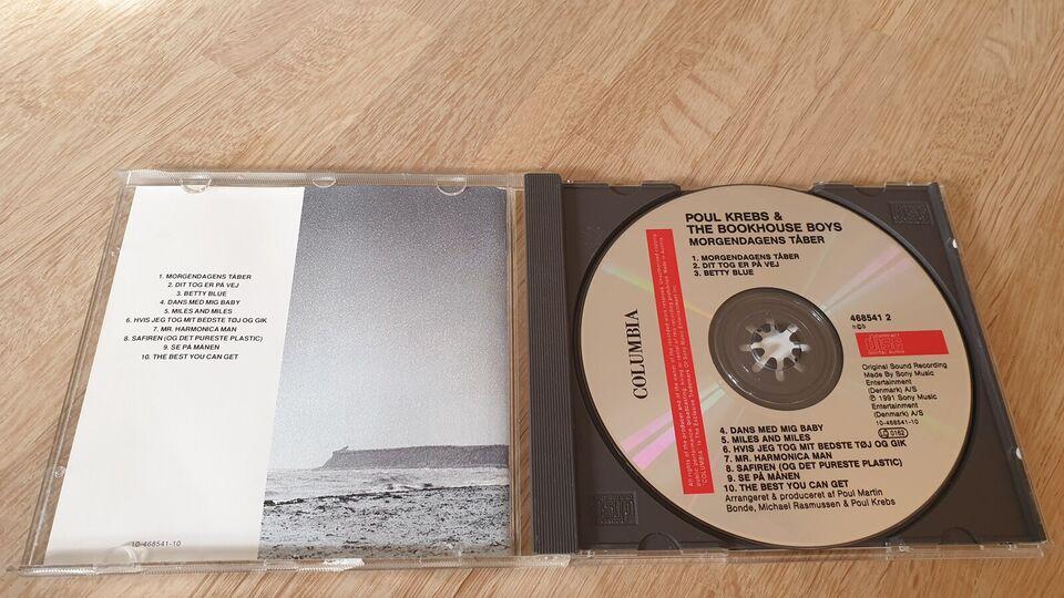 Poul Krebs & The Bookhouse Boys: Morgendagens Tåber, rock