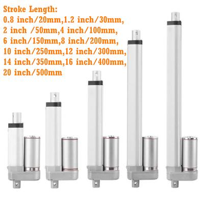 Heavy Duty 100N-1500N Linear Actuator Motor 22lbs-330lbs 12V Stroke 100mm//300mm