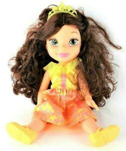 Disney-Jakks-Pacific-Princess-Belle-Beauty-and-the-Beast-14-034-Toddler-Doll-EUC