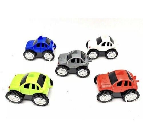 Flip-Over Cars Turbo Wheel Battery Power Rollover Light UpToy Vehicles grey only