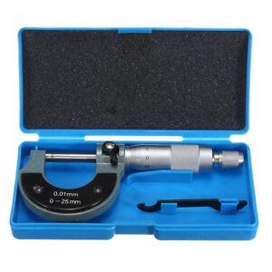 Micrometro-da-0-25-mm-Esterno-Misuratore-metrico-calibro-esterno-Caliper-Misurat