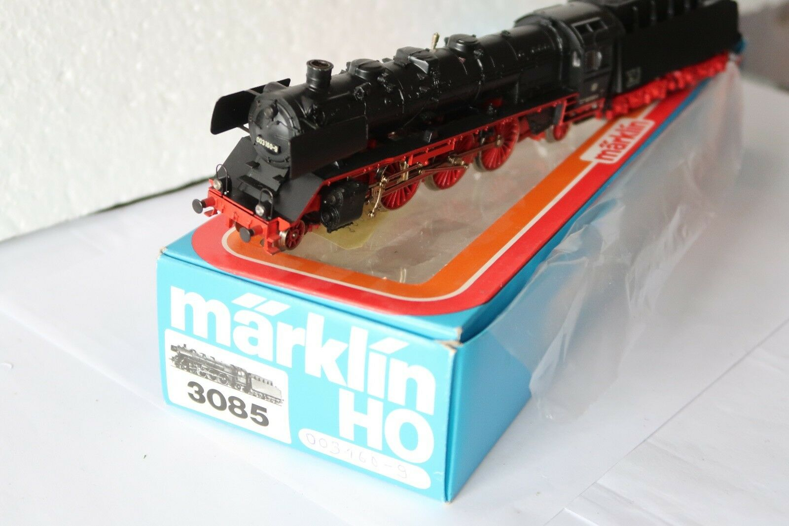 Digital   HO/AC 3085 a Vapore Locomotiva Br 003 160-9 DB + fumo  dp/120-75s9/2