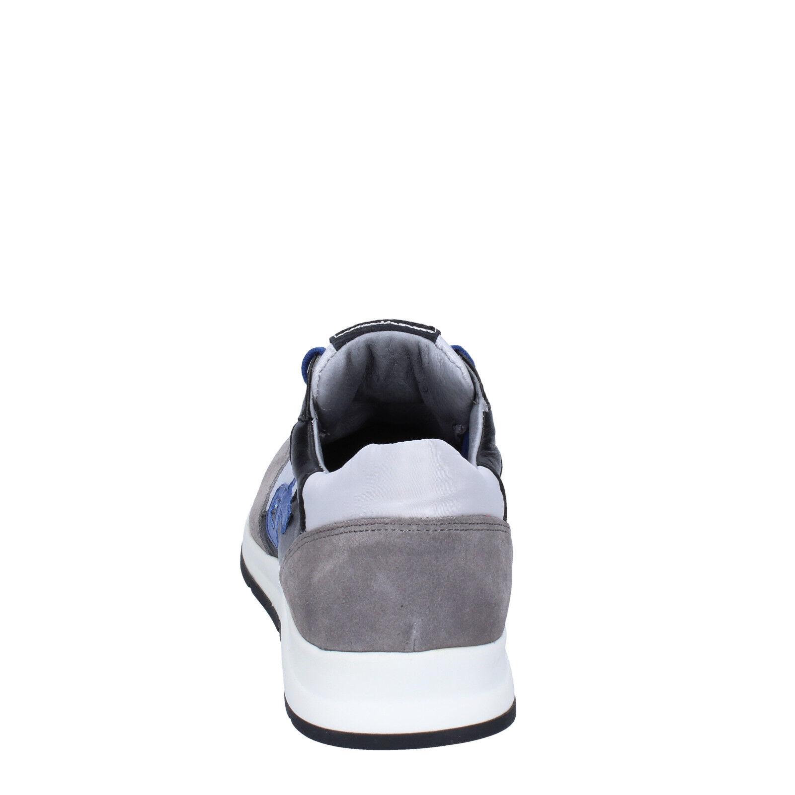 Scarpe Scarpe Scarpe uomo ROBERTO BOTTICELLI 43 scarpe da ginnastica grigio camoscio pelle BT541-43 5b3c66
