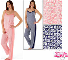 item 1 Selena Secrets Ladies Strappy Cami Top And Long Pant Womens Pyjamas  Set Summer -Selena Secrets Ladies Strappy Cami Top And Long Pant Womens  Pyjamas ... e6fbafa32