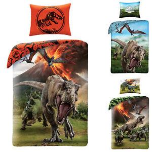 Jurassic-World-Dinosaur-Dino-Bettwaesche-Dinosaurier-140-x-200-cm