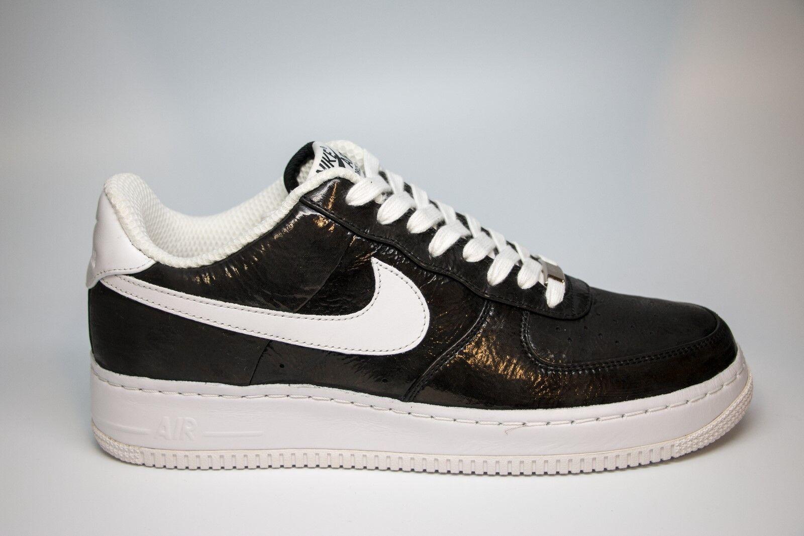 new concept e5475 01de0 NIB Nike Air Force 1 Supreme Slam Jam Jam Jam Black Size 10 Style 318931-