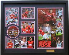 New Robin van Persie RVP Signed Manchester United Limited Edition Memorabilia