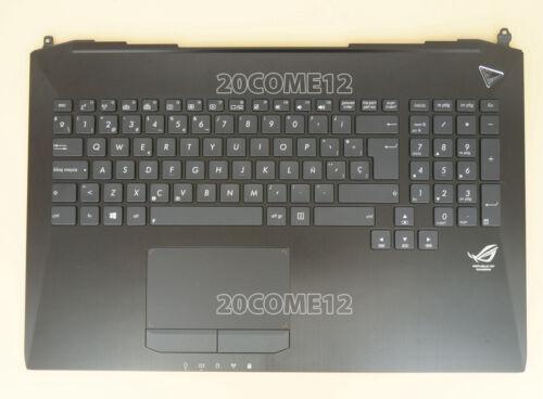 New for ASUS G750J G750JH G750JM KEYBOARD Palmrest Backlit Spanish Teclado