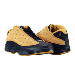 Image is loading Nike-Air-Jordan-13-Retro-Low-Black-Chutney-