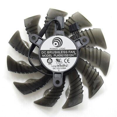POWER LOGIC PLA09215S12H 87MM 4Pin Cooler Fan Replace For Gigabyte GTX |  eBay