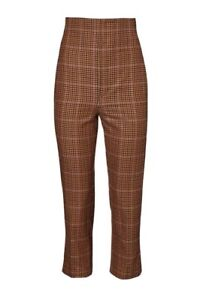 Sold-Out-Scanlan-Theodore-Plaid-High-Waist-Trouser-Sz-10-RRP-400-Worn-Once