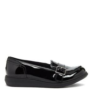 Rocket Dog MAREZ Lewis Ladies Womens School Shoes Casual Slip On Loafer Black