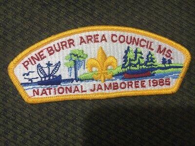 MINT 1989 JSP Indian Nations Council Blue Border