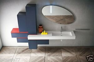 Jacana ja35 u2013 mobile luxury arredo bagno l.255 cm
