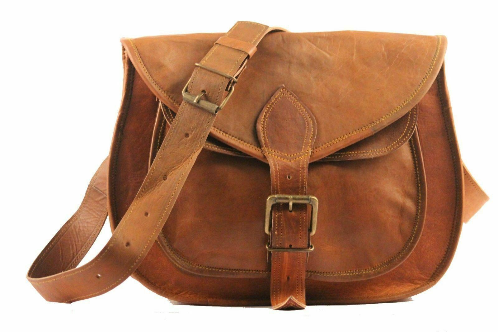 NEW Women/'s Vintage Leather Retro tote bag Satchel Shoulder briefcases Messenger
