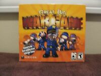 Great Big War Game (pc, 2012) Cd-rom For Xp/vista/7 Factory-sealed