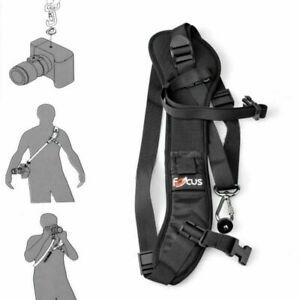 Quick Rapid Shoulder Sling Neck Strap Fit For Nikon Canon Sony SLR DSLR Camera