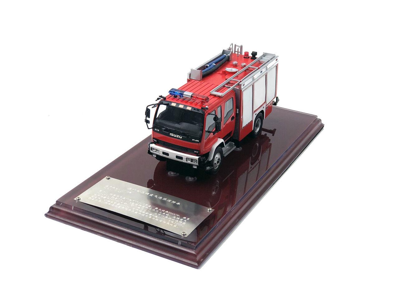 Isuzu Espuma camión de bomberos Modelo Edición Limitada De Resina meterial