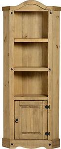 Corona-Tall-Corner-Display-Unit-Wood-Mexican-Pine-New