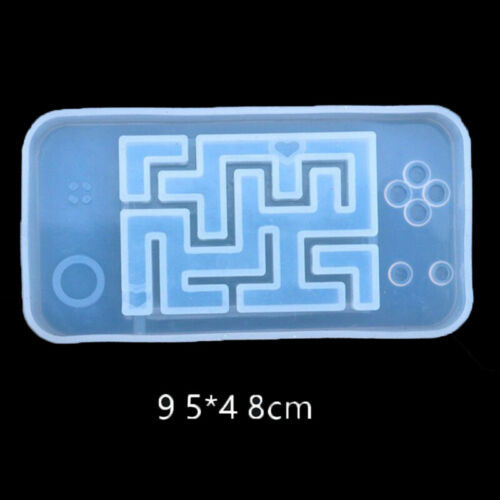 Key Chain Crystal Maze Jewelry Making Tools UV Epoxy Silicone Mould Resin Mold