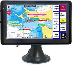 NAVIGATORE-GPS-PLOTTER-CARTOGRAFICO-NAUTICO-Blue-7-0-034-con-cartografia