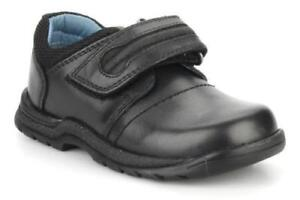 RRP-49-Hush-Puppies-Baby-Boys-Black-Leather-Shoes-Various-Sizes-BNIB