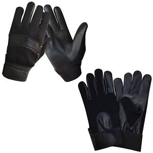 Security-Police-Tactical-Search-Duty-SIA-Doorman-Genuine-Leather-Gloves-7001-2