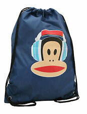 Paul Frank-Julius Headphones Nylon coulisse Monkey palestra/Boot Bag-Blu Navy