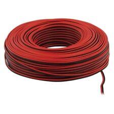 >20m Red & Black 2 x 0.35mm HiFi Home Car Audio Loudspeaker Speaker Cable Wire<