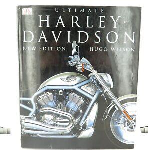 ULTIMATE-HARLEY-DAVIDSON-MOTORCYCLE-LARGE-HARDCOVER-BOOK