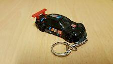 Diecast BMW M3 GT2 Black Toy Car Keyring Keychain NEW