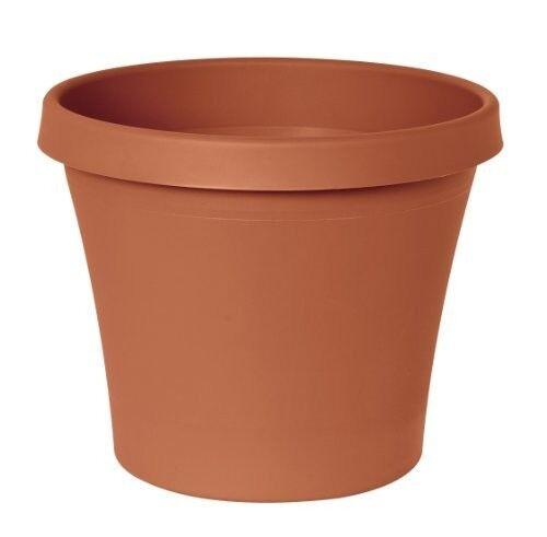 Terrapot 6 Inch Planter Color Clay Flower Pot Garden Indoor Or Outdoor Decor Ebay