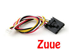 FPV Camera to TX 200mm 5 Pin Molex/JR to 4 Pin White Connector Lead 64631