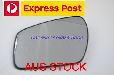 LEFT PASSENGER SIDE FORD FOCUS 6//2005-4//2008 MIRROR GLASS WITH BACK PLATE