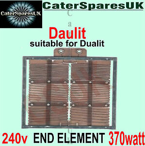 OLD-TYPE-HEATING-ELEMENTS-FOR-4-DUALIT-TOASTER-370w-END-STYLE-SPARES-PARTS-240V