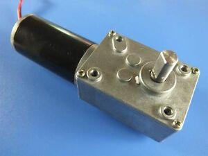 New High Torque Worm Gear Motor Dc Motor Gw31zy 24v 50rpm