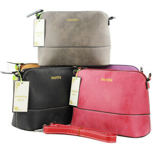 Women-Ladies-Crossbody-Leather-Shoulder-Bag-Tote-Purse-Handbag-Messenger-Satchel