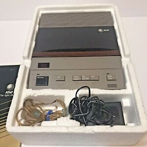 1987-ATT-Answering-Machine-System-Model-1320-Cassette-Tape-CC40