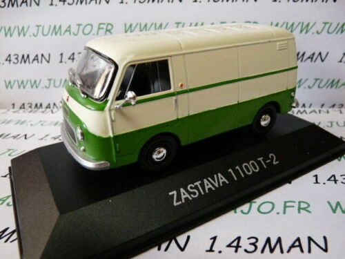 Van ZASTAVA 1100 T2 Fiat 1100 IT10G Voiture 1//43 IXO DEAGOSTINI Balkans