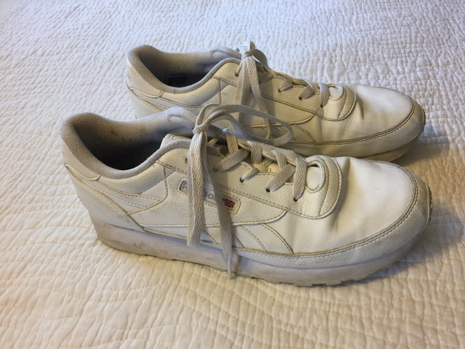 Reebok classic leather white Sneakers Women's 10